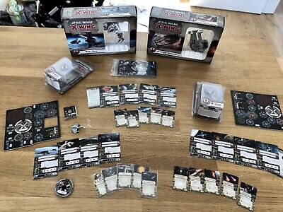 Star Wars X-Wing Miniatures Game collection - first edition job lot.