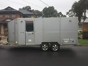 Enclosed motorbike trailer/ toy hauler Knoxfield Knox Area Preview