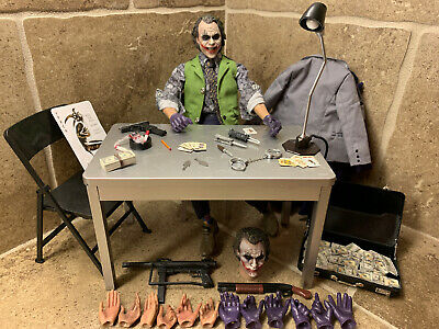 🔥Hot Toys 1/6 The Dark Knight The Joker 2.0 DX11 Rare! w/EXTRAS! BEST