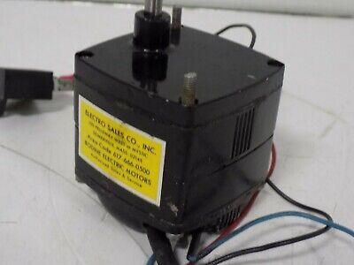 Bodine Electric 115v 60rpm Gearmotor Kyc-23b2