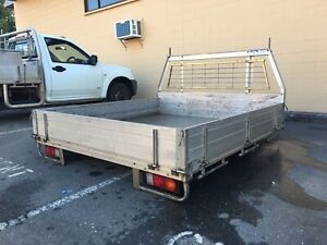 Alloy tray Space Cab or Dual Cab