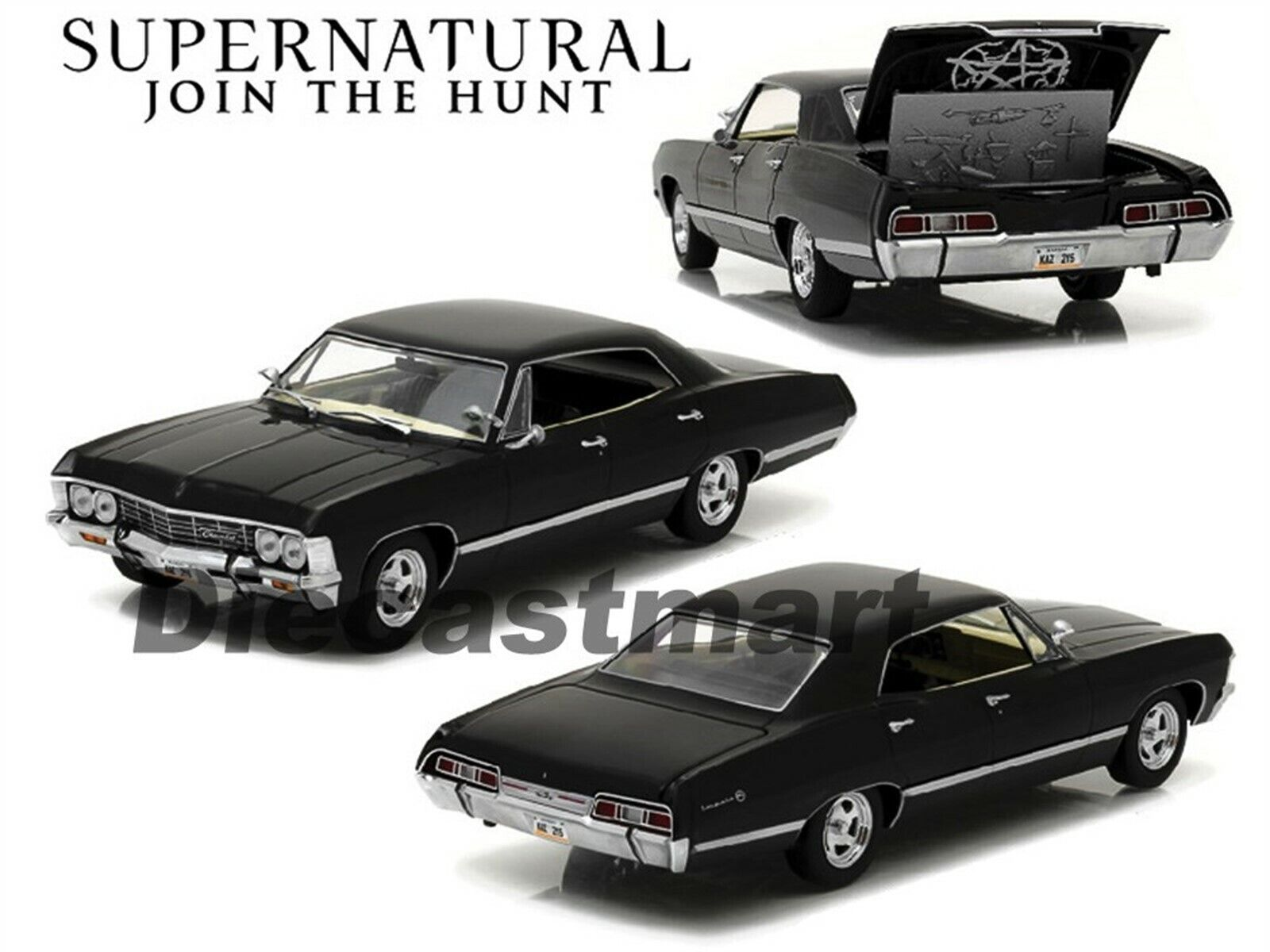 Greenlight 1 24 1967 Chevy Impala Sport Sedan Supernatural 2005 Diecast 84032 812982025298 Ebay