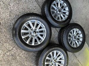 4x 245/65R17 Tyres with Genuine MITSUBISHI a wheels Virginia Brisbane North East Preview