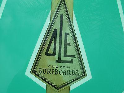 early 60s ole surfboard 9'- rare & beautiful