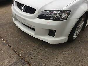 HOLDEN COMMODORE VE SS GENUINE FRONT BUMPER BAR HERON WHITE Kingswood Penrith Area Preview