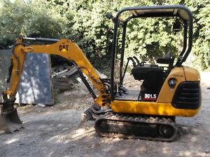 CAT 301.5 Digger - QUICK HITCH - 3 BUCKETS - NEW TRACKS - Excavator