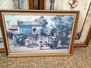 Darcy Doyle framed print North Lambton Newcastle Area Preview