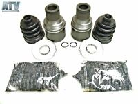 2008-2013 Kawasaki Brute Force 750 4x4 Set of Heavy Duty Rear Axle Boot Kits