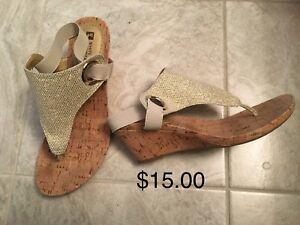 Assortment of ladies Sandals