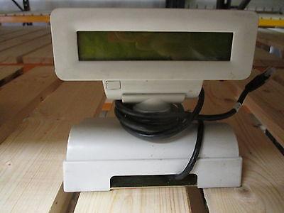 EPSON FD110 FD 110 WHITE Weiß Customer Display RJ-11 RJ11 Kundenanzeige