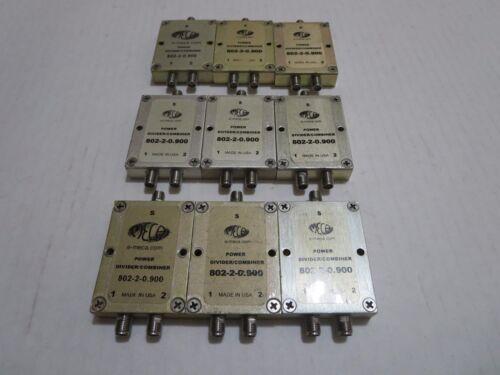 9X MECA 802-2-0.900 POWER DIVIDER COMBINER E-MECA
