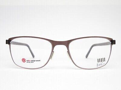 METROPOLITAN  Designer Brille Unisex Brillenfassung Vollrand Braun Mode Trend
