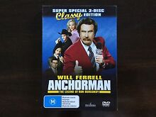 Anchorman - The Legend of Ron Burgundy DVD McKinnon Glen Eira Area Preview