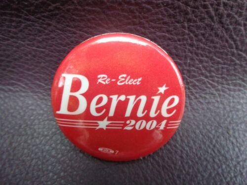 Vintage Bernie Sanders Vermont 2004 Political Pin Button Badge