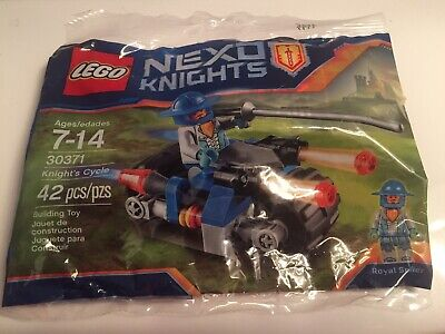 LEGO ~ 30371 ~ NEXO KNIGHTS ~ KNIGHT'S CYCLE ~ NISB ~ FREE SHIPPING