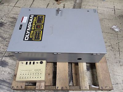 Olympiangenerac Cts System Automatic Transfer Switch 96a05436-w 100a Used