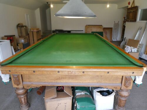 Antique Snooker Table Full Size