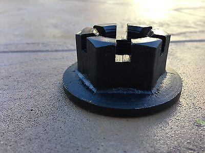 Rhino Rotary Cutter Gearbox Flanged Castle Nut 00771226 11-029 M30 X 2 Thread