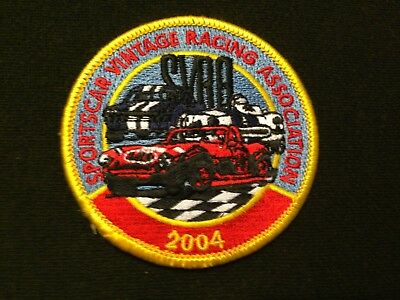 2004 SVRA Sports Car Vintage Racing Association Patch