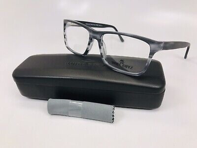 New Wide Guyz Matte Grey BABY FACE  Eyeglasses 57mm for The Stylish Large (Mens Glasses Wide Face)