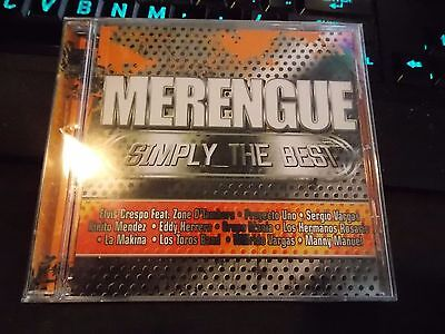 Merengue: Simply the Best by Various Artists (CD, Dec-2007, Machete Music)