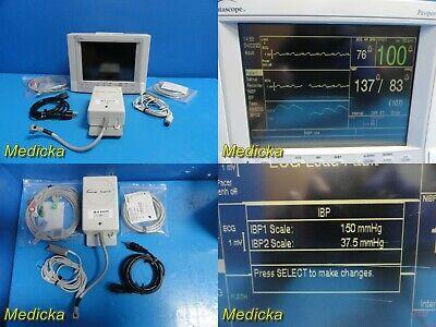 Datascope Passport Xg Nbp Ibp Spo2 Ekg T Monitor W Ecg Nbp Spo2 Leads21414