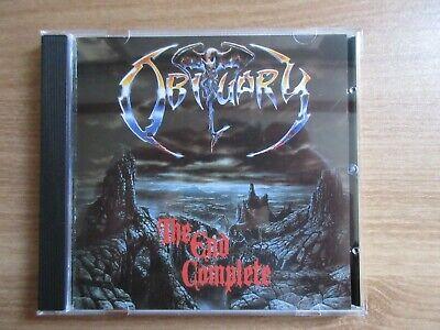 Obituary – The End Complete Korea Orig CD No Barcode RARE