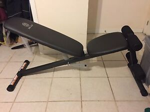 Banc d'exercice Gold's Gym Xr 5.9