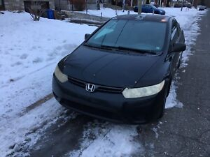Honda Civic 2006 2 portes coupe manuel