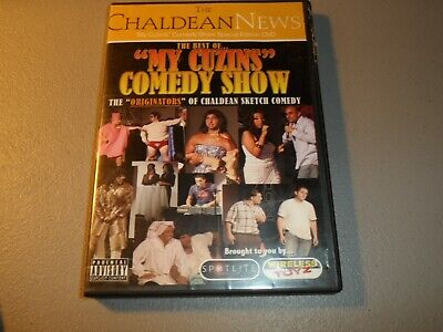 The Best of My Cuzins Comedy Show DVD The Chaldean News Sketch Comedy (Best Sketch Comedy Shows)