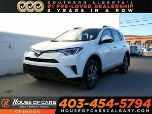 2017 Toyota RAV4 LE w/ Bluetooth, Heated Seats, Backup Camera