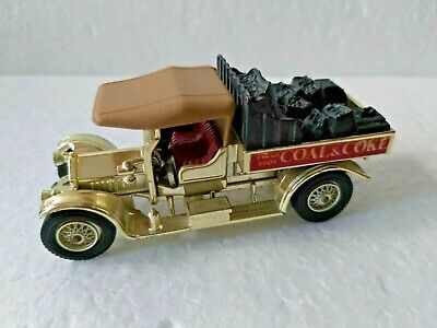 Matchbox Yesteryear Giftware Y13-3 Gold body Crossley-Evans Brothers