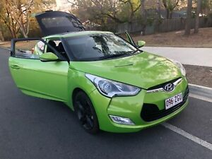 Hyundai Veloster 2013 Green Coupe