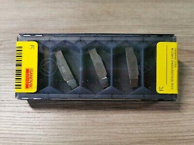 New Sandvik Cbn Grv Insert N123h1-040004s01025 7015 5pcsbox