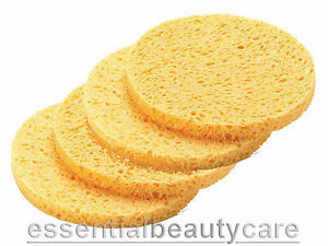 4 mask removal sponges facial cleansing