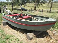 Aluminium boat, sound and in good condition Warialda Gwydir Area Preview