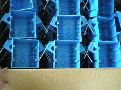 Carlon B232acp Outlet Box 2-gang Nail-on Quantity Of 40