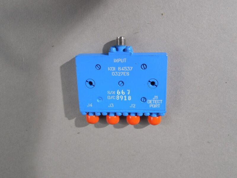 KDI (Aeroflex) 4 Way RF/Microwave splitter and combiner YF-53