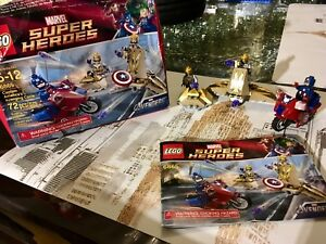 Lego Marvel 6865 Avenging cycle vente ou échange