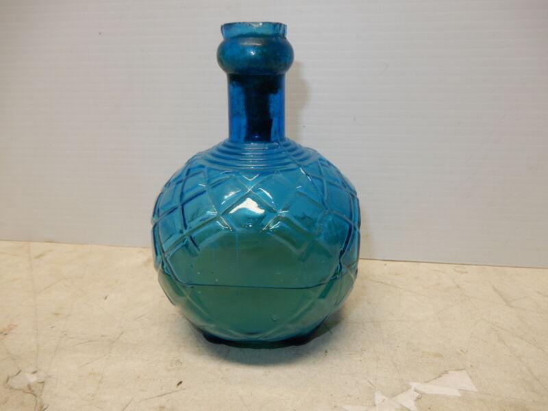 ANTIQUE HARDENS GLASS FIRE EXTINGUISHER WITH SALT BRINE