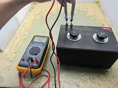 New York Transformer Co Model 212 Decade Inductance 2b-2