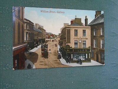 OLD WILLIAM STREET GALWAY - IRELAND POSTCARD