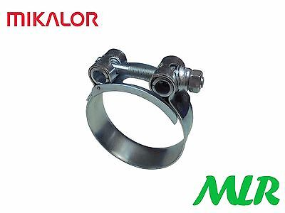 MIKALOR 20-22MM HEAVY DUTY OIL COOLER REMOTE FILTER HOSE CLAMP CLIP MLR.KW