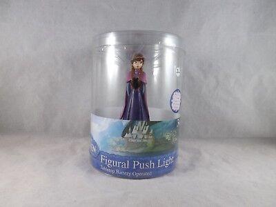 Idea Nuova Figural Push Light Night Light Tabletop - NEW - Disney Frozen Anna