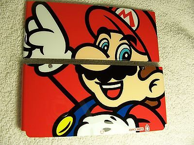 Nintendo Used New 3DS Faceplate Mario Red Front & Back Cover Plates Repair (Front Back Faceplate)
