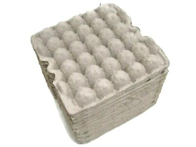 Egg Flats 30 Count Paper Tray Lot Of 30 Pieces Eggs Crickets Crafts Euc