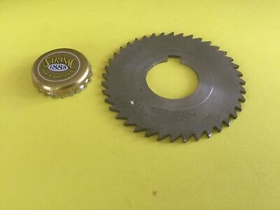 Hss Slitting Sawing Milling Saw Cut Off Blade 2.698x 0.071 Wide 1 Inch Drive