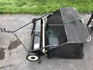 """38"""" lawn tractor package"""