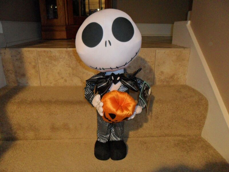 Jack Skellington Halloween Door Greeter Nightmare Before Christmas