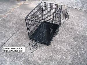 NEW SMALL Collapsible Metal Pet /Dog Puppy Cage Crate-METAL TRAY Kingston Logan Area Preview